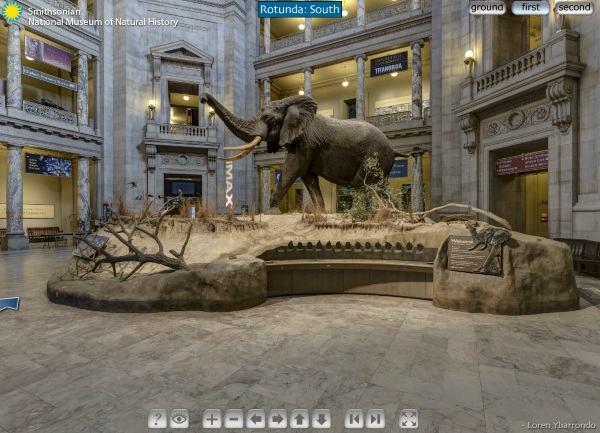 Free virtual tour of the Smithsonian – admission is just an internet connection
