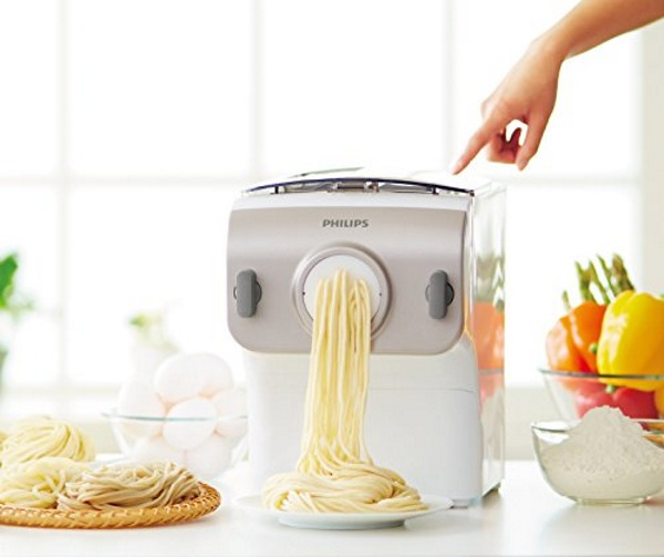 Philips Pasta Maker in use