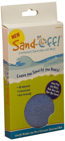 Sand-off – don't bring the beach home with you
