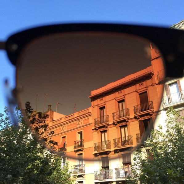 Tens Sunglasses – see the world through an Instagram filter