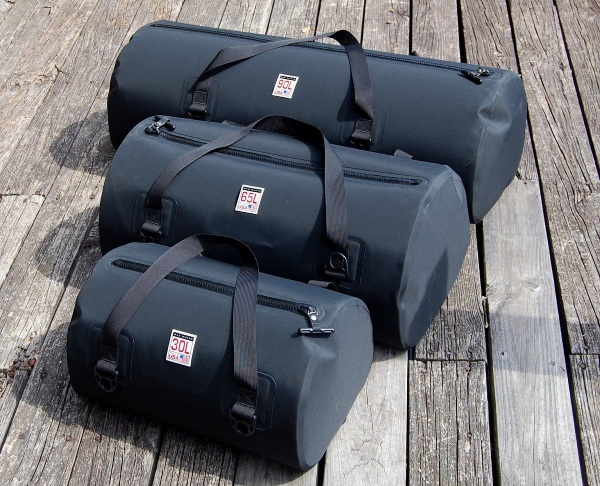 Waterproof USA Duffel sizes