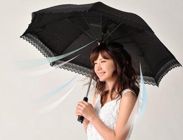 Rurudo Fan Shade – stay cool, rain or shine