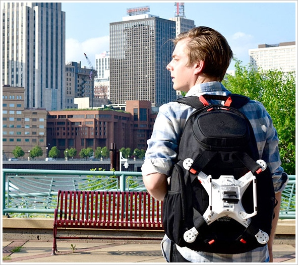 Swiza Drone Backpack – carrying around your drone is no longer a drag
