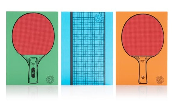 Table Tennis Notebooks – game on during office time