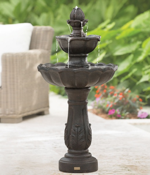 Only Cordless Rechargeable Fountain – bring your water based Zen anywhere