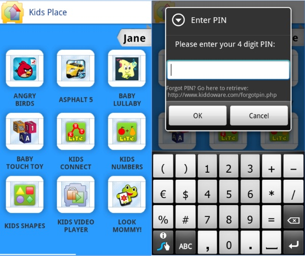 Kid's Place – the app that keeps your phone contents safe from little fingers [FREEWARE]