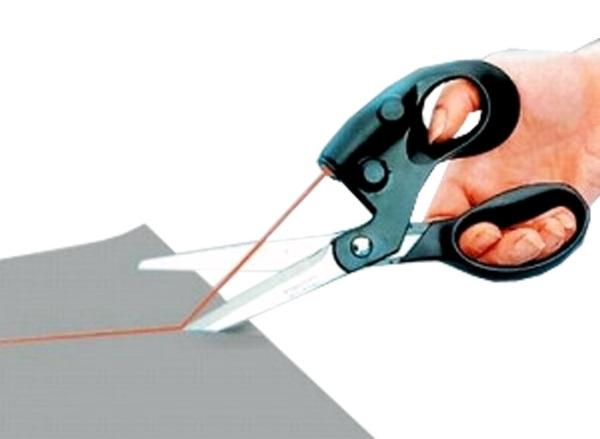 Laser Scissors – laser guided scissors for the straightest lines