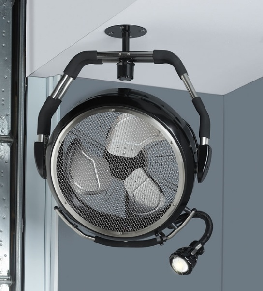 High Velocity Industrial Fan – work on your projects without working up a sweat