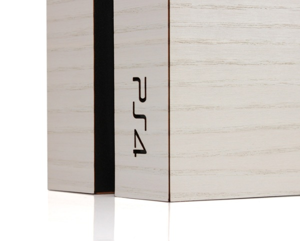 Wood Cover for PlayStation 4 – give your game system a vintage look