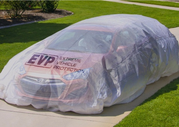 Extreme Vehicle Protection – a few minutes of set up can save you thousands