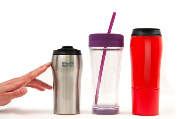 Mighty Mugs – no more wet desks with these drink holders