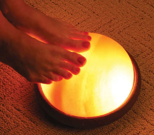 Himalayan Salt Therapy Dome – same therapy, sleeker look