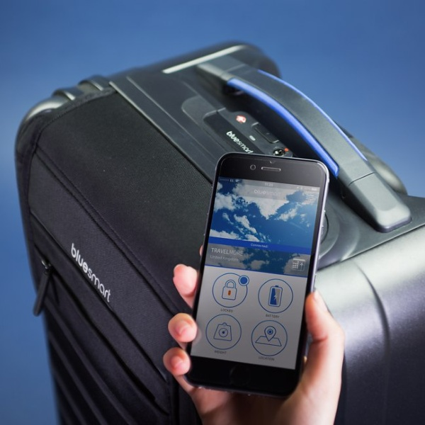 Bluesmart – the luggage that weighs itself
