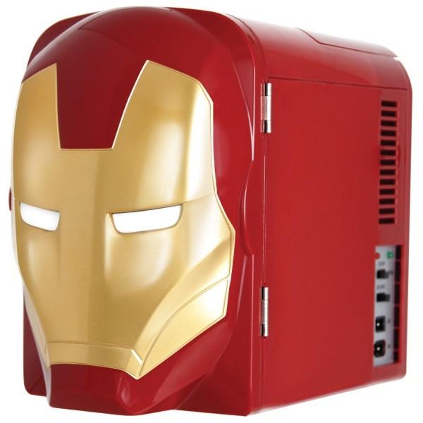 Iron Man Mini Fridge – keep you drinks cool and avenged