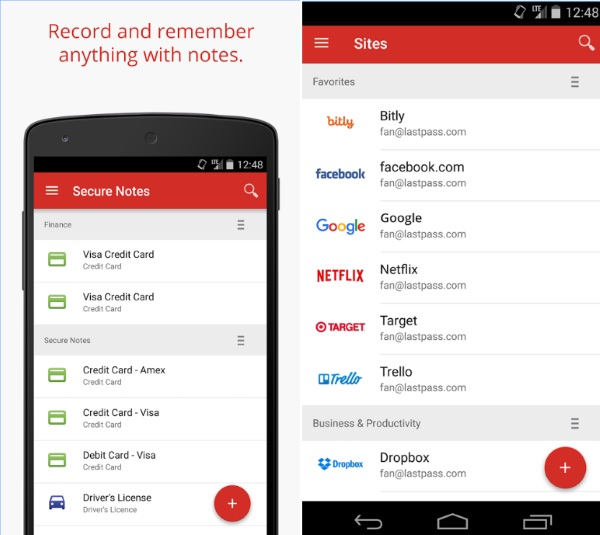 LastPass – never forget a password again