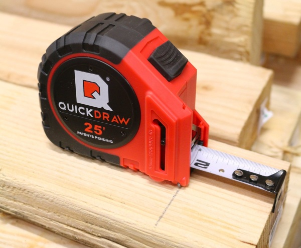Quick Draw Pro – the measuring tape that marks for you