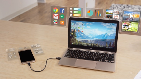 Superbook – turn your smartphone into a laptop