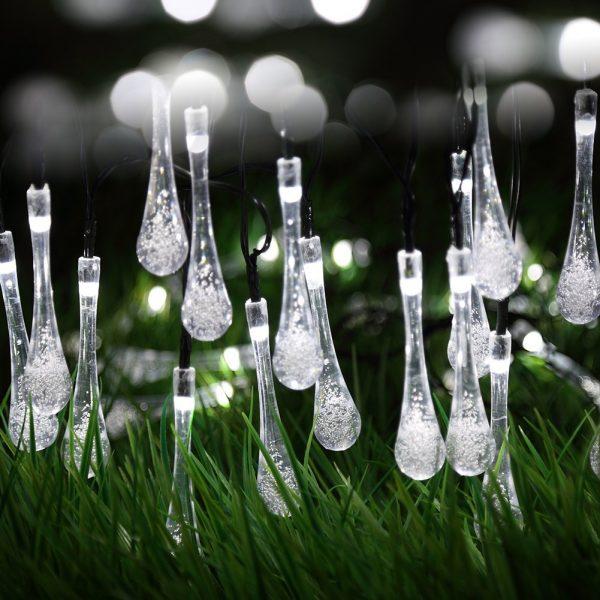 Water Drop Lights – raindrop look with no cloud coverage