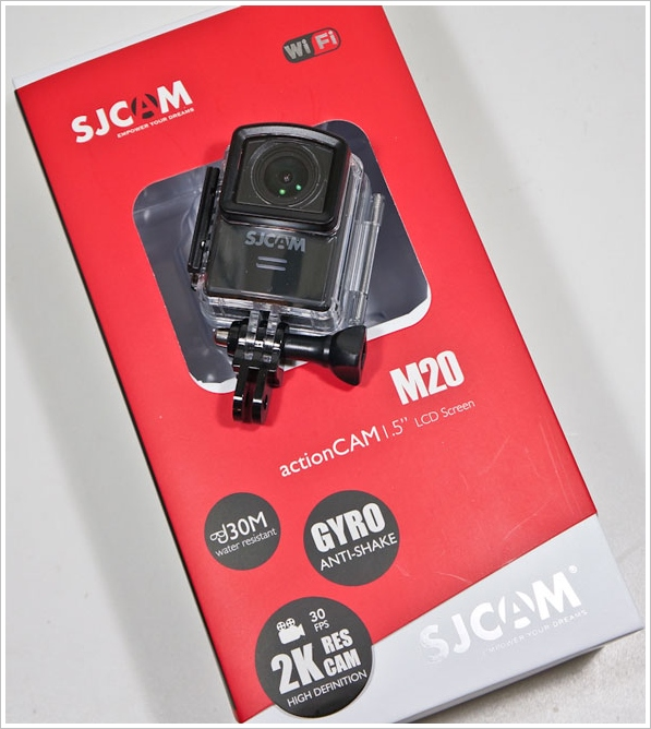 SJCAM M20 Action Camera – brilliant little camera is versatile and fully featured [Review]