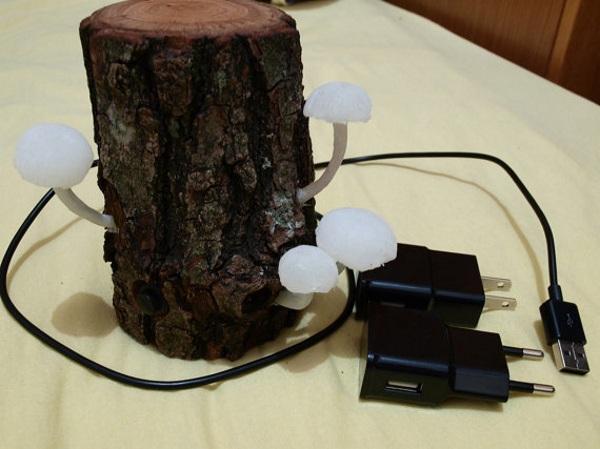 """Mushroom Lamp – get more """"natural"""" lighting"""