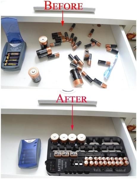 Ohuhu Battery Organizer – keep an eye on those AA's