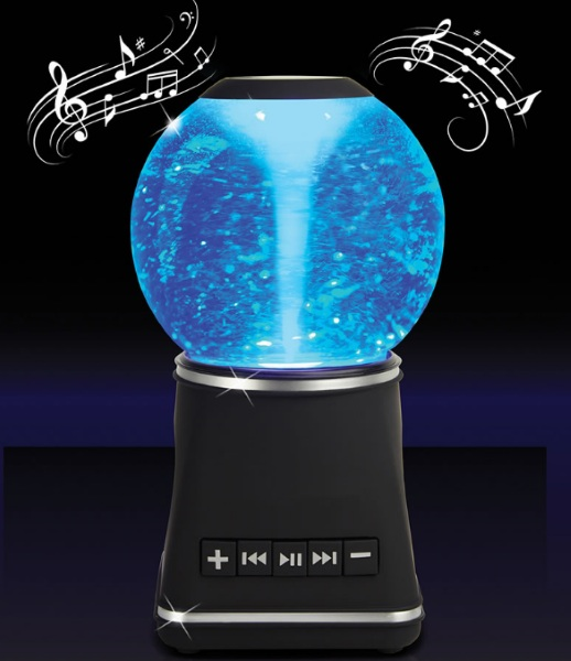 Sound Sensing Water Whirlwind Speaker – the music playing tornado in a bottle