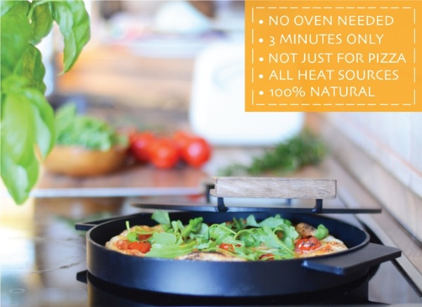 Ironate – make pizza on your stove