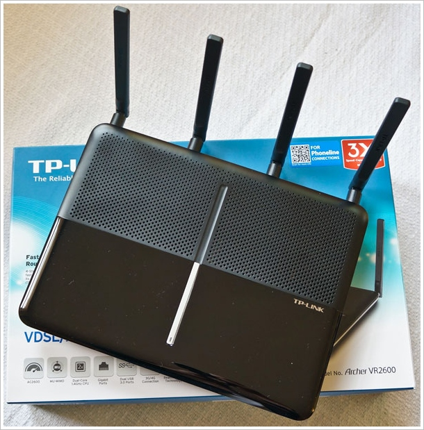 tplinkvr2600 main TP Link AC 2600 Router Modem   fast, flexible and a great way to spice up your home WiFi network [Review]