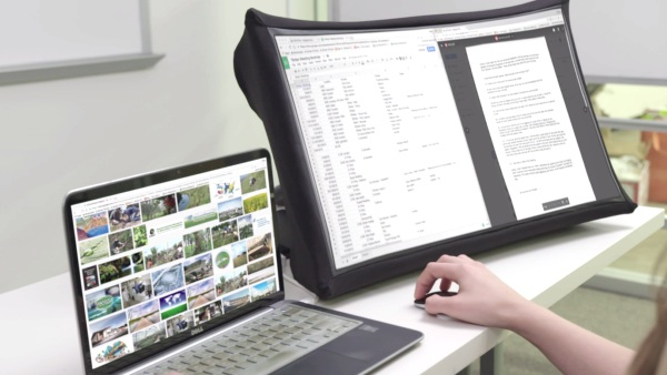 SPUD – the extra monitor that can go with you anywhere