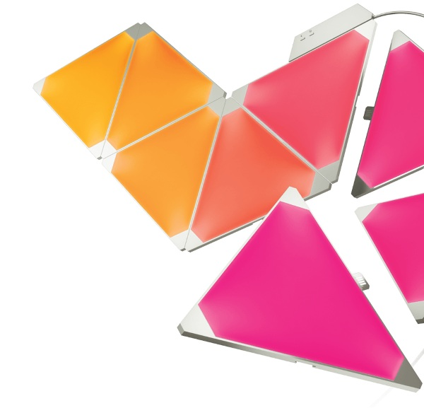 Nanoleaf Aurora – puzzle piece smart lighting for all your design needs