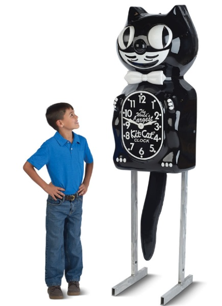 World's Largest Kit Cat Clock – for when you need your kitsch extra big