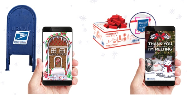 USPS AR App – a little holiday cheer from the post office