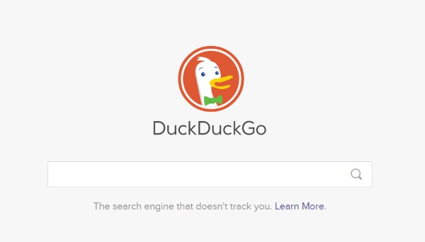 Duck Duck Go – search anonymously