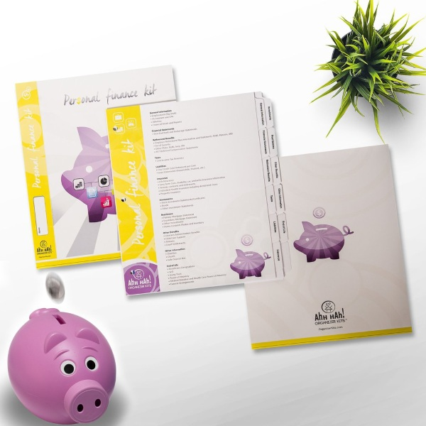 Personal Finance Organizer Kit – keep your receipts in one place