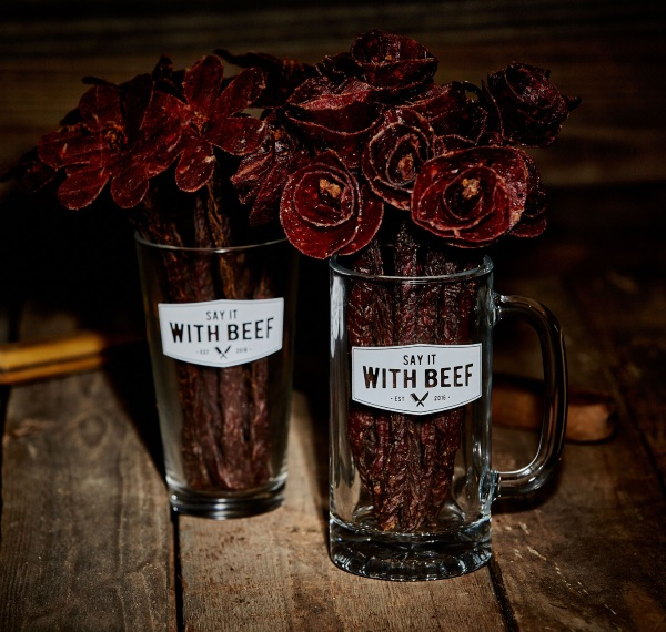 Say It With Beef – an edible bouquet for those tired of fruit
