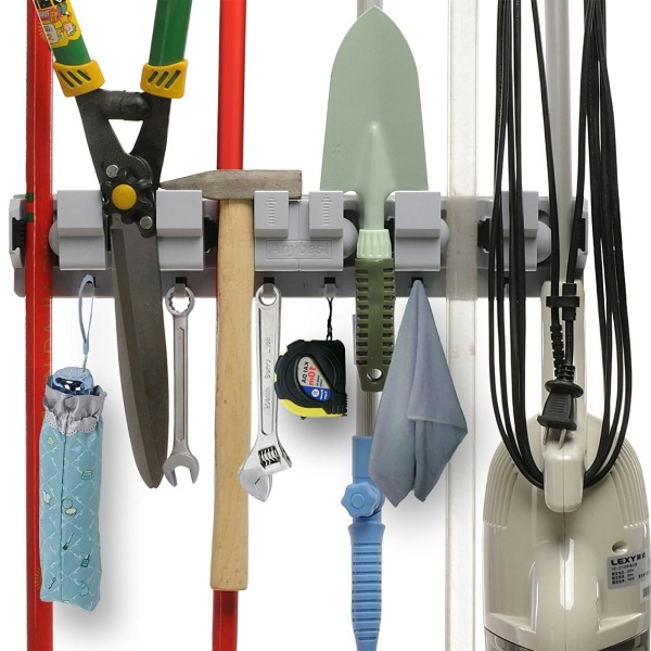 Wall-Mounted Tool Rack – give everything a home so you can organize yours