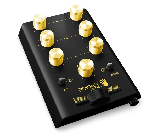 Pocket DJ Mixer – turn your friends' music into a party