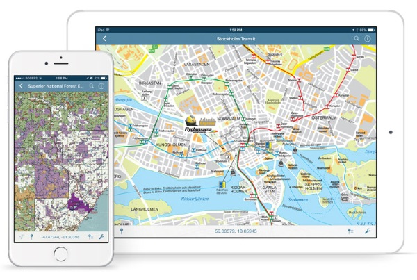 Avenza Maps – use your phone for maps, even without internet