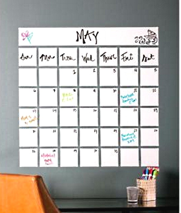 Dry Erase Paint – turn any wall into a work surface