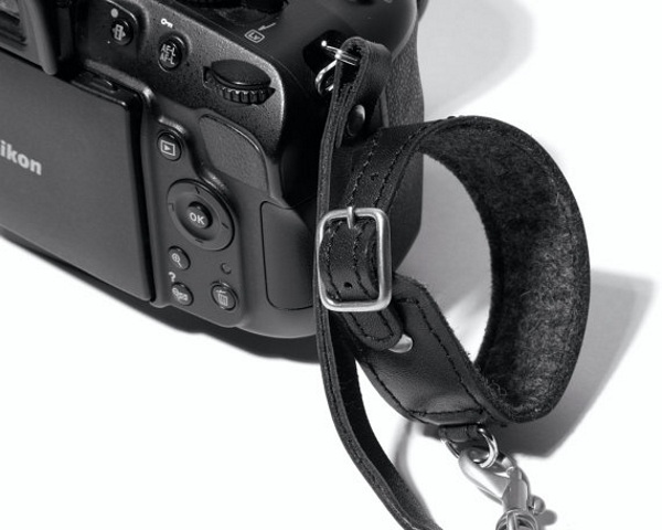 Leather Camera Wrist Strap – shoot from the hip with this camera strap