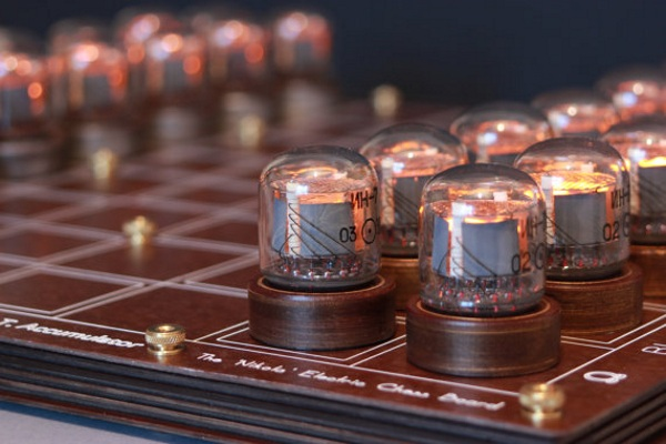 Nixie Chessboard – check out this cool take on the classic game