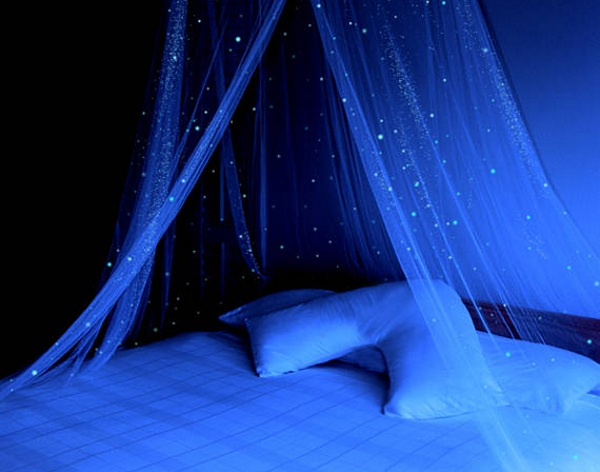 Glow in the Dark Canopy – make every night a starry night