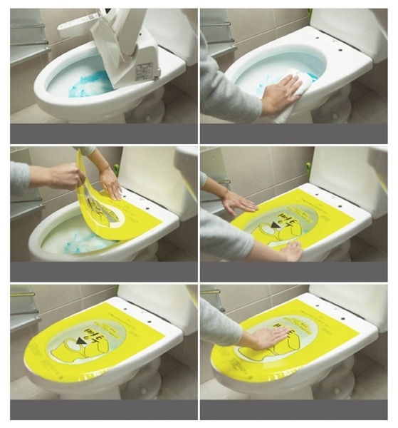 Pungtu Toilet Disposable Sticker Plunger – a plunging system for the brave