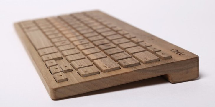 Orée Keyboard – Made out of wood, smells like wood! [REVIEW]