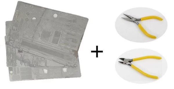 3D metal Puzzle Model Kit – these realistic models are perfect for wasting some time
