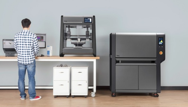 Studio System 3D Metal Printer – not for home use but still pretty awesome