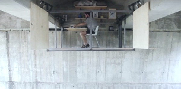 Underpass Studio Apartment – check out this unique solution to housing