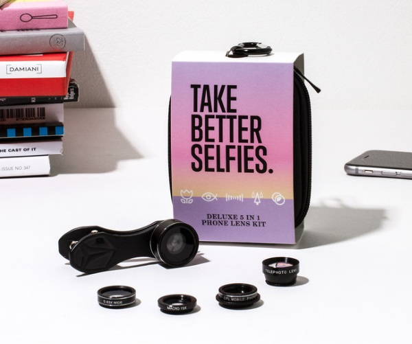 Take Better Selfies Lens Kit – level your smartphone camera up