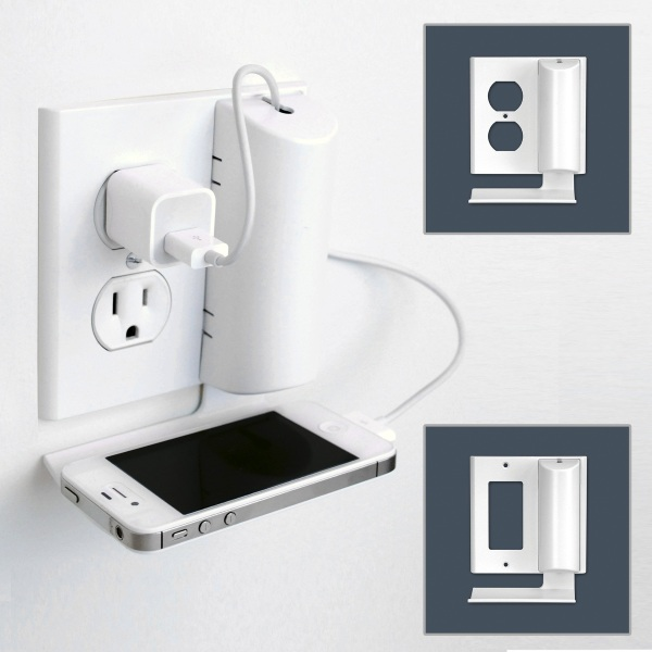 Cord Charmer – this cord solution comes with a handy shelf attachment