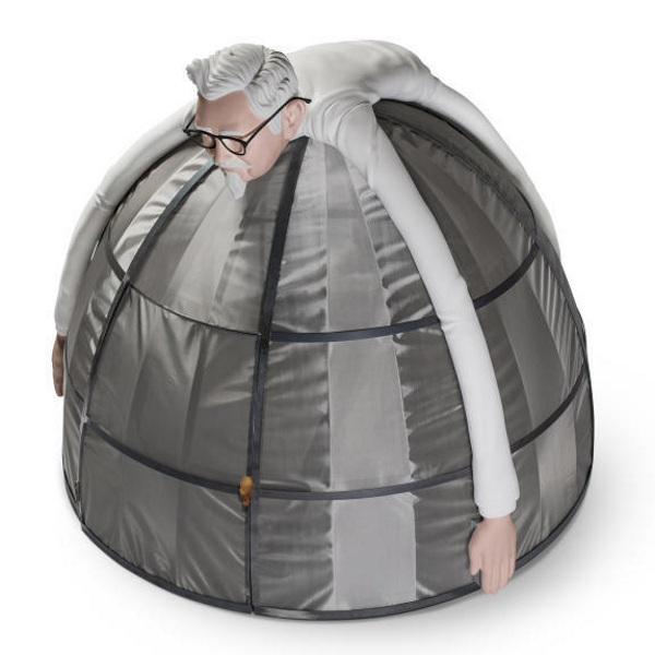 Internet Escape Pod – unplug for a few with this tent
